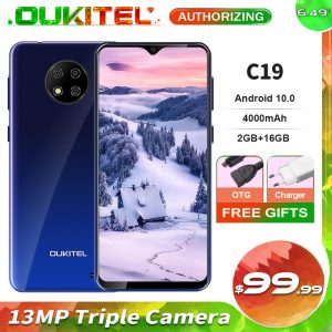 Original OUKITEL C19 Android 10 Smartphone