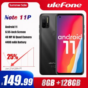 Ulefone Note 11P Android 11 Smartphone